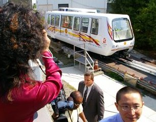 China Automated People Mover with Wireless control